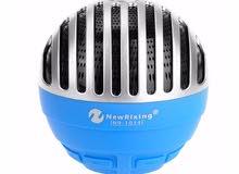 مكبر صوت لاسلكي محمول قابل للشحن بخاصية البلوتوث ، الراديو ،USB , بطاقة تخزين