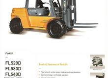 رافعة شوكية FOTON FL550D صينية الصنع جديدة للبيع
