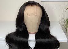 باروكة شعر طبيعي 100٪