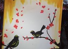 لوحة جداريه بانامل عمانيه