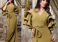 فستان اسباني للمناسبات