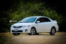 White Toyota Corolla 2012 for sale