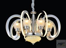ثرية LED حديتة 8 لامبه .