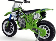 Kawasaki Moto X Scrambler - 6 volt