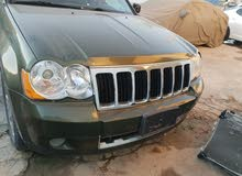 Automatic Green Jeep 2008 for sale