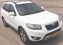 هيونداي سنتافي موديل موديل 2012رقم واحد خليجي عمان تأمين شامل الممشى 89 الف كيلو