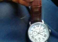 ساعة يد ماركة كارتير الأصلي جلد