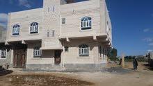 بيت مسلح قواعد للبيع دورين 50مليون صنعاء خط المطار الجديد
