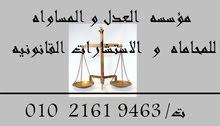 مؤسسه العدل و المساواه للمحاماه