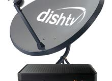 Dish Tv receiver ,,all assessors available,,and good condition,,only 1year used,