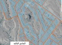 العامرات/ الحاجر الثالثه المساحه 855 متر   ملاصقه للحاجر الاولى   بداية المخطط