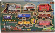 """القطار السريع مع جهاز تحكم عن بعد - 39 قطعة - مع اضاءة وصوت للأطفال""""عرض خاص-سعر"""