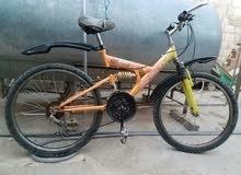 في الحديدة دراجة هوائية رامبو مقاس 24 اسبرنجات وتعاشيق