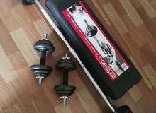 50 & 30 Kgs weights sets -Box piece