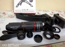 Phone Camera Lens Kit عدسة تقريب للهاتف مع ملحقاتها