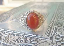 "خاتم عقيق يماني قديم جدا"""