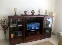 """TV cabinet with storage (fits 32"""" TV)"""