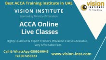 ACCA COURSE AT VISION INSTITUTE IN AJMAN