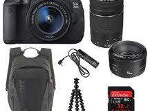 مطلوب كاميرا كانون 700D