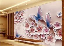 دهان ومقاول وتشطيب وتركيب ورق جدران ودهان جميع انواع الدهانات الداخليه والخارجيه