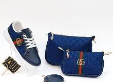 احذية مع حقيبة