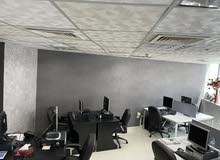 Fully Furnished Office - Damac Business Tower with Two Parking and One month free