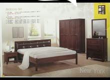 غرف نوم للبيع صناعة ماليزية جديدة بالكرتونة لم تستخدم كما في الصور.... بدون فرشا
