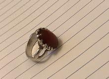 للبيع خاتم فضه اصلي