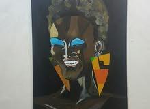لوحة فنية100*70 painting canvas