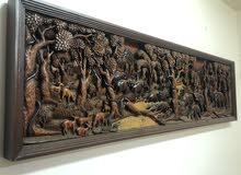decorative wood Wall item (animals)