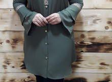 فستان تركي قياس42الى52 سعره33الف قمصان ب17الف والعبي17