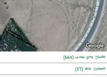 ارض متعدده الاستعمالات بالقرب من منطقه الفنادق في وادي موسى