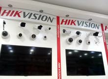 CCTV camera brand Hik vision and VDO door opener