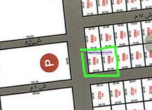 ارض للبيع حي الموسى جنوبي ع شارعين 25 متر و15 متر