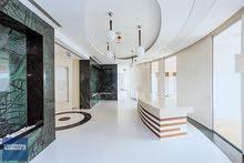 فوق مركز أكاسيا للتسوق ، غرفة داخلية واحدة ، مكتب جديد واسع ومميز للغاية.
