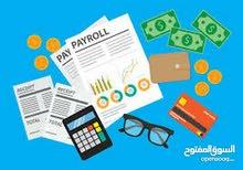 خبرة في الحسابات المالية + العمل على المنظومات المحاسبية والاكسل