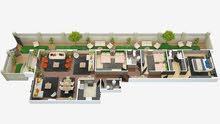 شقة 231م بحديقة خاصة بالتجمع الخامس بمقدم 35% من المالك