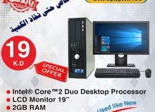 للبيع جهاز كمبيوتر مكتبي