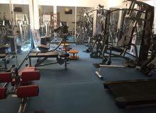 صالة رياضة كاملة للايجار في المركز الدولي