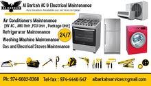 al Barkah A/c & Electrical maintenance company