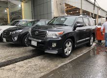 Black Toyota Land Cruiser J70 2013 for sale