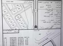 للبيع أرض سكنية كورنر العامرات الحاجر الثانية