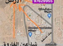 ارض سكنية صحنوت شمالية مربع ب خلف سوق الرحمانية وبنك مسقط