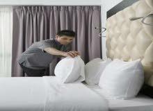 مطلوب فورا للعمل في فنادق بشرم الشيخ عشرة هاوس كيبنج خبره او بدون