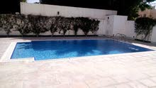4 Bedrooms spacious Semi Furnished Single  Story Compound Villa With Private Pool  in Saar