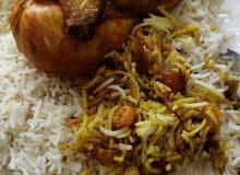وجبات رمضانيه كاملة 800 فلس مطعم الشبح