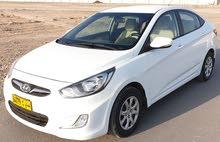 هيونداي اكسنت موديل 2014خليجي وكالة عمان تأمين شامل 1600سي سي قطعت 1الف
