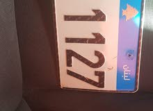 plate number for sale  للبيع لوحة سيارة 111127/G