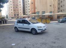 Automatic White Hyundai 2004 for sale