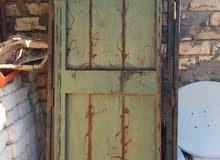 باب حديد - باب محل الومنيوم مستعمل متعدد المقاس بأسعار مناسبة